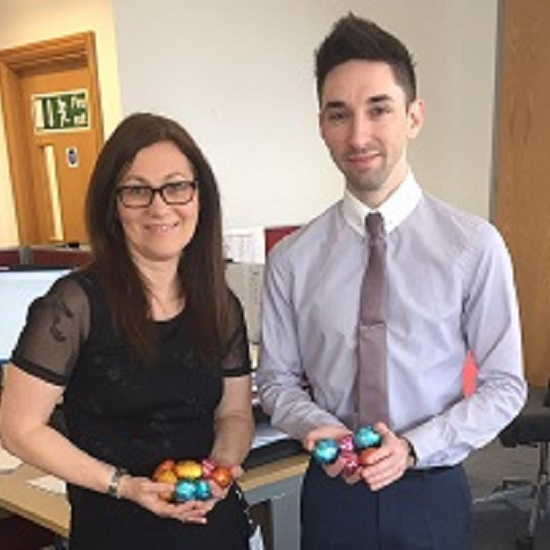 Chelmsford Easter egg hunt winners