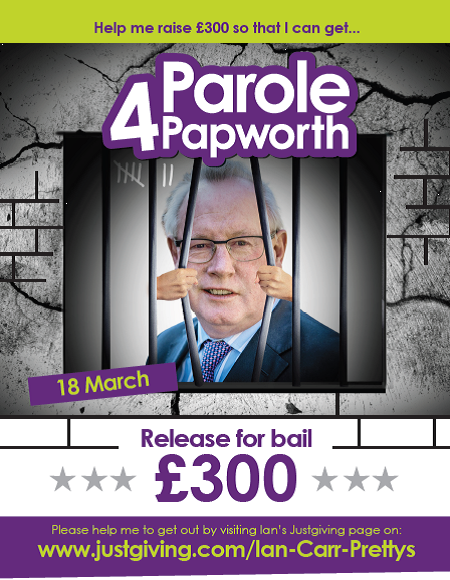Ian Carr - Parole 4 Papworth 18th March