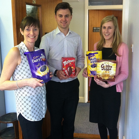 Ipswich Easter egg hunt winners